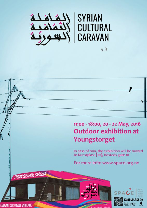 Syrian Caravan Poster